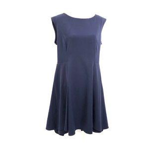 CALVIN KLEIN Navy Blue A-Line Dress